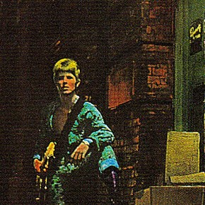 Ziggy Stardust commemorated in London
