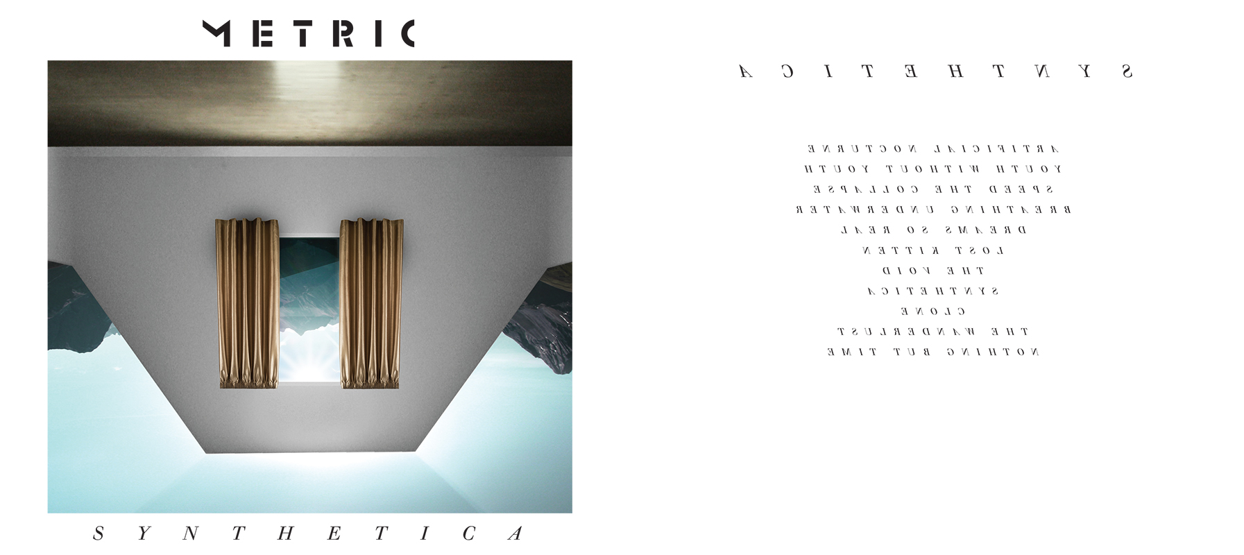 synthetica art Metric announce Synthetica tracklisting, art