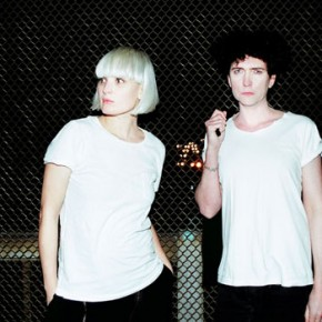 While you were sleeping: The Raveonettes played Letterman