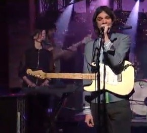 While you were sleeping: Dirty Projectors played Letterman